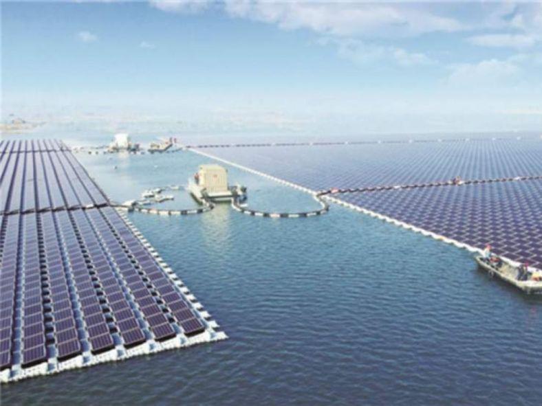 Centrale solaire Chine